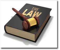 The Law Book and Gavel